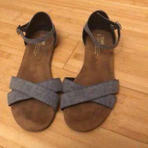 Toms Sandals. Size 9